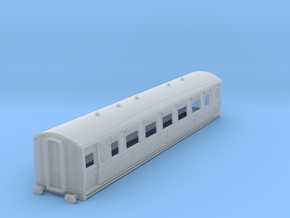0-148fs-ltsr-ealing-3rd-class-coach in Smooth Fine Detail Plastic