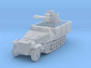 Sdkfz 251 D Pritschen 105mm 1/144 in Smooth Fine Detail Plastic