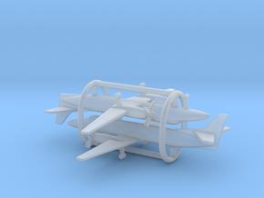 Fairchild Swearingen Metroliner III SA227 in Smooth Fine Detail Plastic: 1:500