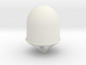 SeaTel 4006 Dome - ø 45 mm - 1:25 in White Natural Versatile Plastic
