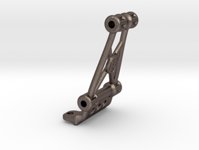 B6.1 / B6.2 / SC6.1 JConcepts Bulkhead Mount Metal in Polished Bronzed-Silver Steel