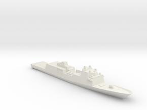 Fincantieri FFG(X) Wargaming in White Natural Versatile Plastic: 1:2400