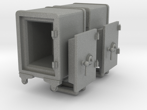 Vintage Safe 01. 1:48 Scale (O) in Gray PA12