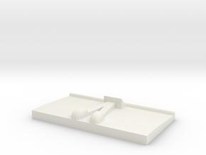 Millennium Falcon ERTL/AMT/MPC Engine  in White Natural Versatile Plastic