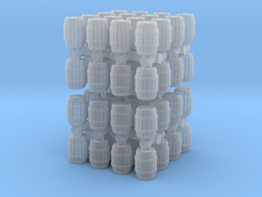 Wooden Barrel (x64) 1/285 in Smooth Fine Detail Plastic