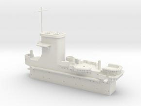 1/350 USS Wasp (Sept. 1942) Island in White Natural Versatile Plastic