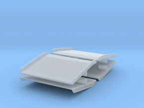 Warehouse Dock Board (x4) 1/72 in Smooth Fine Detail Plastic