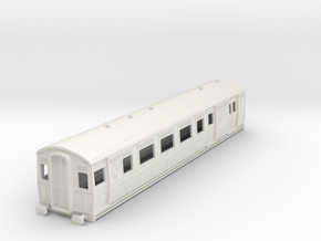 0-76-ltsr-ealing-brake-3rd-coach in White Natural Versatile Plastic