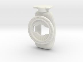 Grippy Twister  in White Natural Versatile Plastic