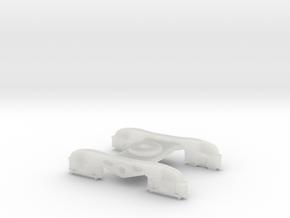 Bogie Part1 in Smooth Fine Detail Plastic