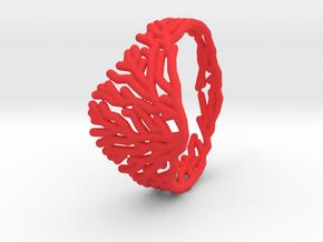 PINK FIRE CORAL i1 TALLA 6  LAbdGRAFO -  TPA in Red Processed Versatile Plastic