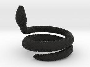 Cobra Real Desplazamiento Fractálico i4_ TALLA 6 L in Black Premium Versatile Plastic