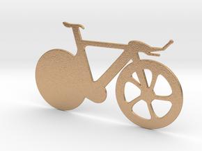 Racing Bicycle in Natural Bronze