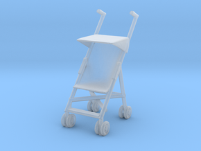 Stroller 1/48 in Smoothest Fine Detail Plastic