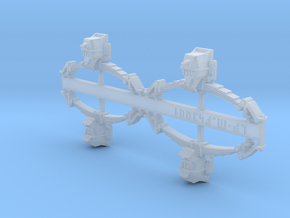 Grappe de 4 ensembles suspension boîte essieu État in Smooth Fine Detail Plastic