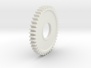 HPI 76843 gear 43 tooth gear in White Natural Versatile Plastic