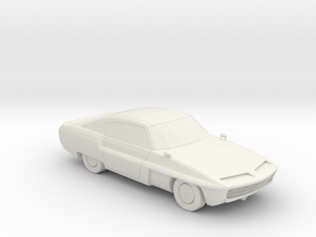Saloon v1 1:160 scale in White Natural Versatile Plastic