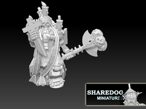 Character Series: Undead Priest in White Natural Versatile Plastic