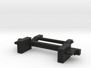 SCX24 RC4WD Body Mount Jeep Black Rock in Black Natural Versatile Plastic: 1:18