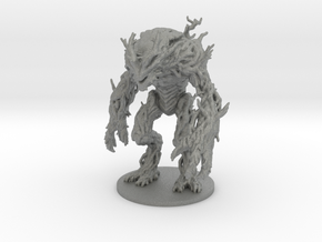 Ent Dryad 55mm DnD miniature fantasy games and rpg in Gray PA12