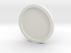 FDL Marker / Fleur De Lis Marker in White Natural Versatile Plastic
