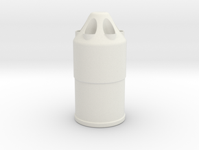 Nerf 58MM Beehive Shell in White Natural Versatile Plastic