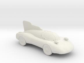 BG Jet Car 1:160 scale in White Natural Versatile Plastic