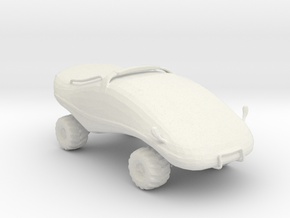 Moon Buggy v1 1:160 scale in White Natural Versatile Plastic