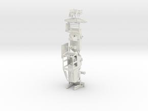 1/50th Log Skidder Swing Arm Esco Grapple in White Natural Versatile Plastic