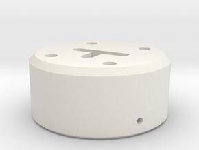 Regional Manager - Neopixel Holder  KR-Style -  Pa in White Natural Versatile Plastic