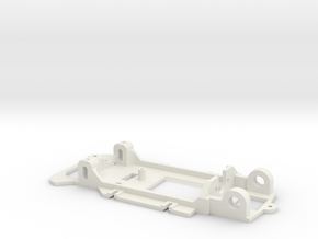 18D Chassis BRM Fiat Abarth 1000 TCR in White Natural Versatile Plastic