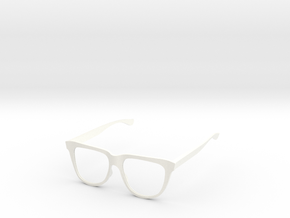 Delight Specs in White Processed Versatile Plastic