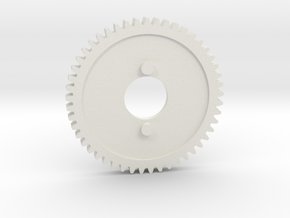hpi 76819 49 tooth Nitro 2 speed gear in White Natural Versatile Plastic