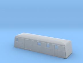 Swedish wagon for railcar UDFo3 N-scale in Smooth Fine Detail Plastic