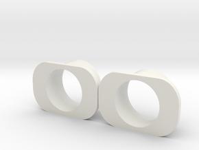 Wonderful Sabers Ahsoka NPXL holder (DOUBLE) in White Natural Versatile Plastic