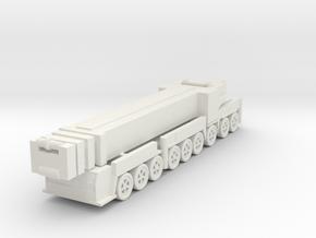 Liebherr LTM 1750-9.1 1/160 in White Natural Versatile Plastic