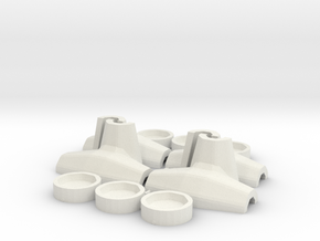 1:50 Core-loc 3m mould kit in White Natural Versatile Plastic
