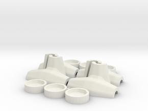 1:50 Core-loc 3m mould kit in White Natural Versatile Plastic