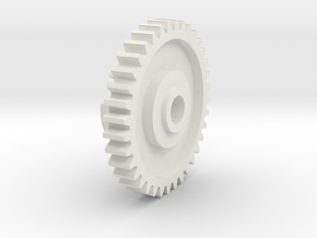 Kyosho Jetstream 36 tooth gear in White Natural Versatile Plastic