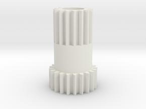 Tamiya King Cab, Astute, Hi Lux, Madcap 50377 gear in White Natural Versatile Plastic