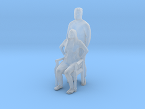 Printle C Couple 424 - 1/87 - wob in Smooth Fine Detail Plastic