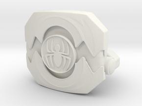 Morpher LC Figure Open Spiderman in White Natural Versatile Plastic