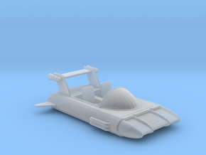 Hover Car V5 1:160 Scale in Smooth Fine Detail Plastic