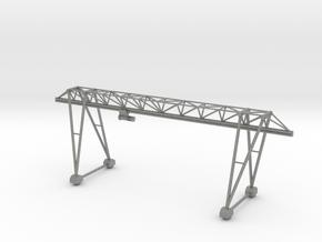 N Scale Gantry Crane 184mm in Gray PA12