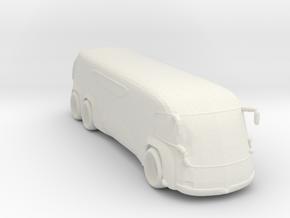 BG Moonlines Tour Bus in White Natural Versatile Plastic