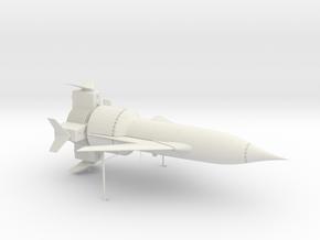 Thunderbird 1 in White Natural Versatile Plastic