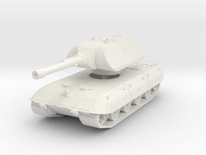 E 100 Maus 150mm (side skirts) 1/100 in White Natural Versatile Plastic