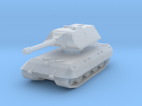E 100 Maus 150mm (side skirts) 1/160 in Smooth Fine Detail Plastic