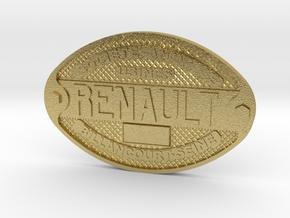 Renault Batch in Natural Brass