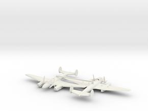 1/200 Petlyakov Pe-2 in White Natural Versatile Plastic